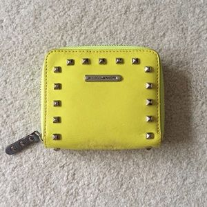 Rebecca Minkoff Studded Leather Wallet